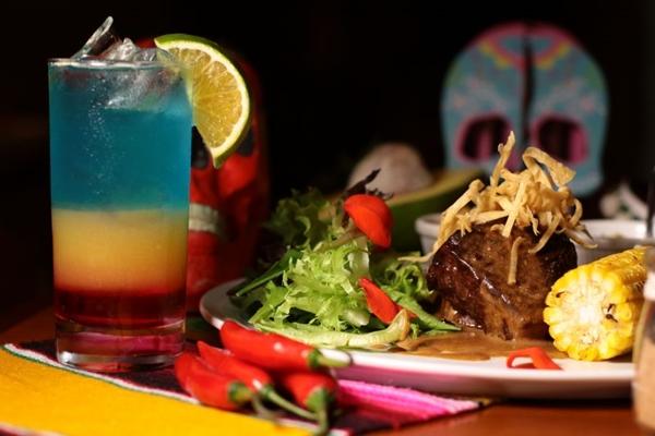 Os pratos latino-americanos são destaques do restaurante Mucho Gusto (Luis Nova/Esp. CB/D.A Press)
