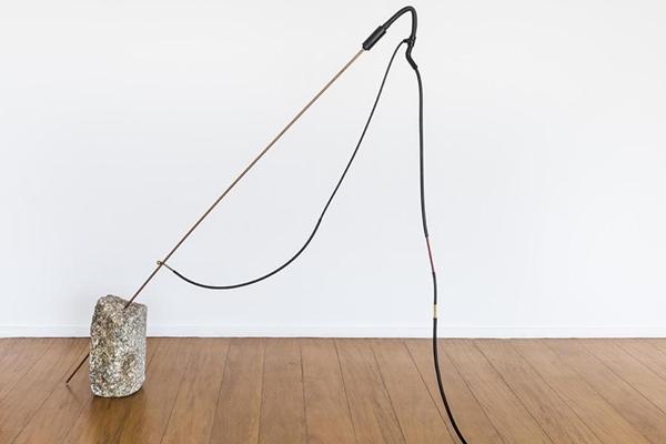 Obras do artista Claudio Cretti em exposição na Casa Niemeyer (Reprodução/Internet)