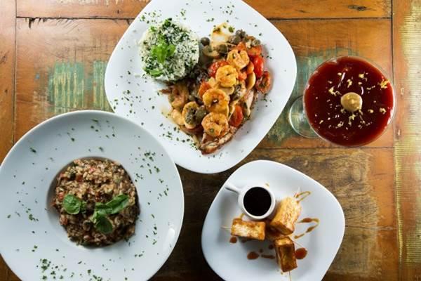 Menu do restaurante Liv Lounge para o festival Brasil Sabor (Rafael Lobo Zoltar/Divulgação)