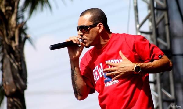O rapper paulista Dexter é uma das atrações do festival  (Fábio Terra/Divulgação)