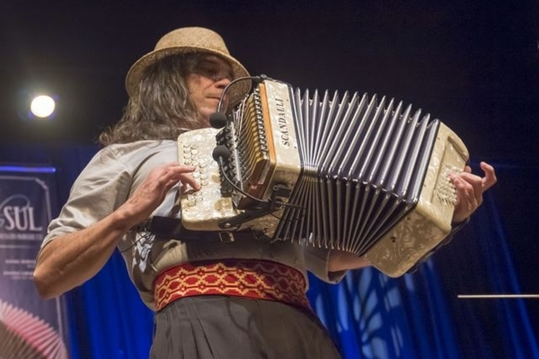 Música de Renato Borghetti ultrapassou as fronteiras do Rio Grande do Sul e ganhou o mundo  (Sérgio Filho/Divulgação )