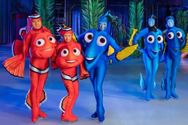 A atração 'Procurando Dory' é a novidade entre as histórias apresentadas no espetáculo (Feld Entertainment/Divulgação)
