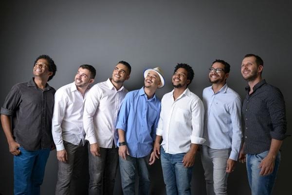 Gosta de samba? Nesta sexta-feira (22) tem o grupo 7 na Roda (Luisa Dale/Divulgação)