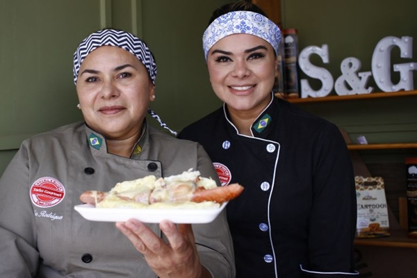 Mãe e filha, Marília Rodrigues e Patrícia Naggle comandam o Swiss Gourmet (Ana Rayssa/Esp. CB/D.A)