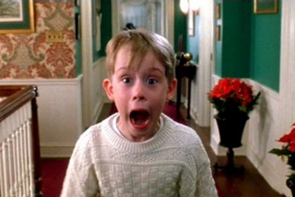 O ator Macaulay Culkin estrelou a franquia quando tinha 10 anos (Reprodução/Internet)