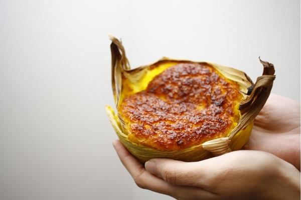 Entre os preparos com milho, a pamonha assada é um quitute que pode ser pedido doce ou salgado  (Ana Rayssa/Esp. CB/D.A. Press)