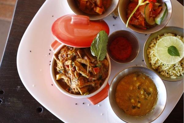 A opção vegetariana não deixa a desejar no PiauÍndia (Ana Rayssa/Esp. CB/D.A)