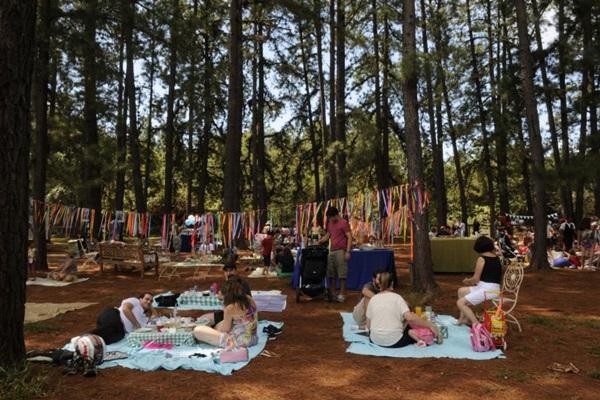 O Jardim Botânico de Brasília conta com um espaço próprio para piqueniques (Zuleika de Souza/CB/D.A Press)