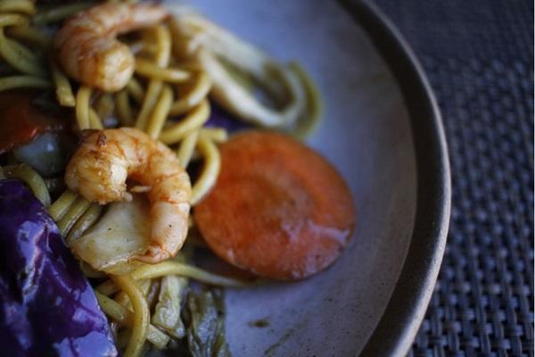 O camarão foi muito escolhido pelos chefs do Restaurant Week para compor cardápios de diferentes maneiras (Ana Rayssa/Esp. CB/D.A Press)