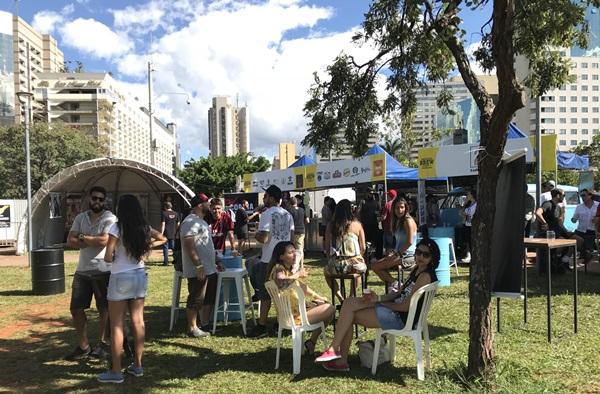 Evento vai receber food trucks de cervejas especiais no Parque da Cidade (Objetiva Assessoria/Divulgação)