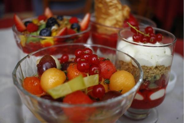 As frutas aparecem com tudo em diversas receitas pra lá de refrescantes no Daniel Briand (Ana Rayssa/Esp. CB/D.A Press)