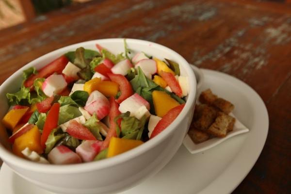 As saladas do Cafezinho são alternativas para encarar o calor e se manter bem alimentado  (Ana Rayssa/Esp. CB/D.A Press)