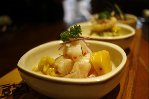 Os ceviches são especialidade do restaurante peruano Taypá (Ana Rayssa/Esp. CB/D.A Press)