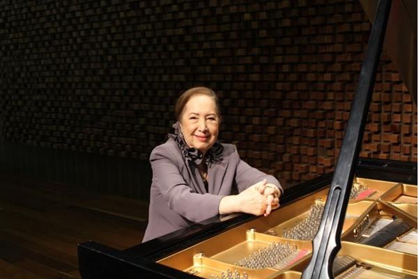 Os 80 anos de Maria Emília Osório serão muito bem comemorados com concerto aberto ao público na Casa Thomas Jefferson Hall (DGBB/Divulgação)