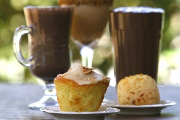 As bebidas geladas do Ernesto Cafés Especiais são um sucesso (Ana Rayssa/Esp. CB/D.A Press)