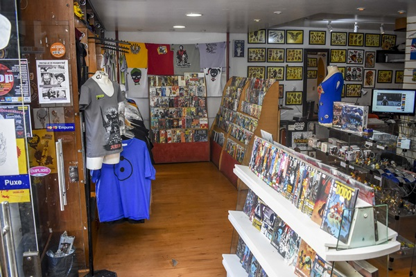 Espaço da loja Kingdom Comics será o endereço do universo geek neste fim de semana (Hélio Montferre/Divulgacao)