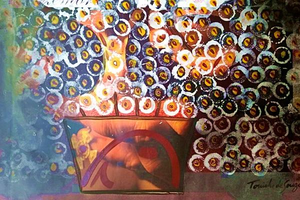 Cores vivas e vibrantes estão nas obras da mostra Latino-americana de Arte (Toninho de Souza/Divulgacao)
