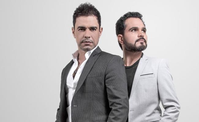 Mais de 20 anos depois do lançamento, 'É o amor' ainda faz sucesso em shows de Zezé Di Camargo & Luciano (Objetiva Comunicação/Divulgação)