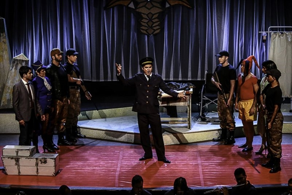 A ópera foi composta originalmente por Viktor Ullmann, vítima do holocausto (Assessoria Larissa Nery/Divulgação)