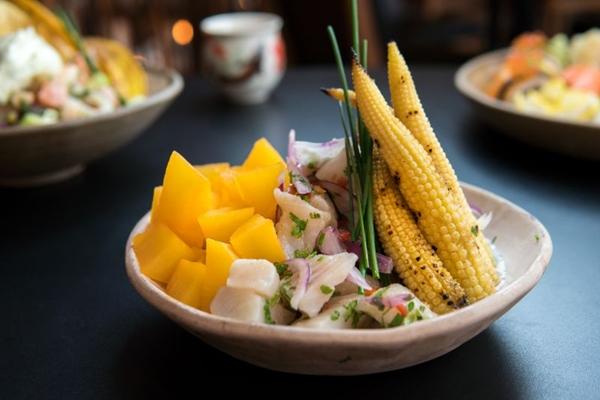 O ceviche é refrescante e pode ser um aliado nos dias de calor (Thiago Bueno/Divulgação)