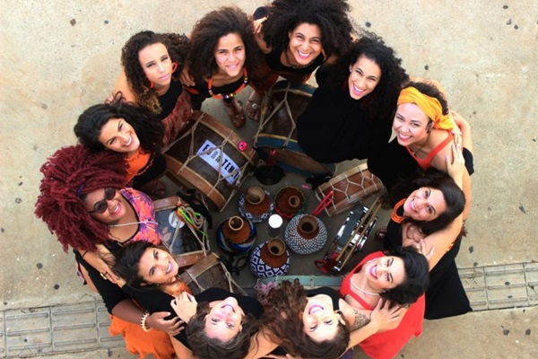 O grupo Filhas de Oyá é uma das atrações do Festival Puroritmo (Tato Comunicação/Divulgação)