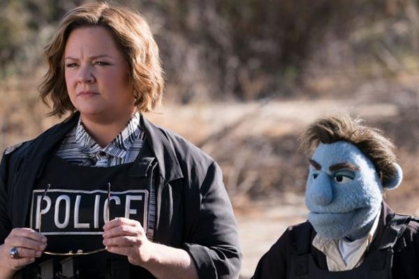 Nem o carisma de Melissa McCarthy salvou 'Crimes em Happytime' de um fracasso nas bilheterias americanas (Reprodução/Internet)