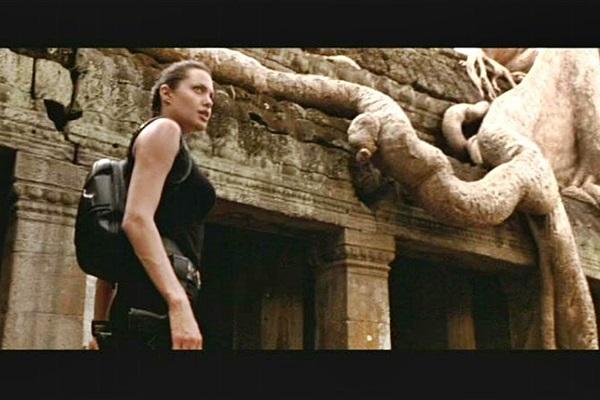 Angelina Jolie foi protagonista da franquia inspirada em Tomb Raider (Paramount Pictures/Divulgação)