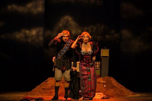 'Nuestra Senhora de las Nuvens' é o primeiro espetáculo de uma trilogia sobre a América Latina (Rafael Telles/Divulgação)