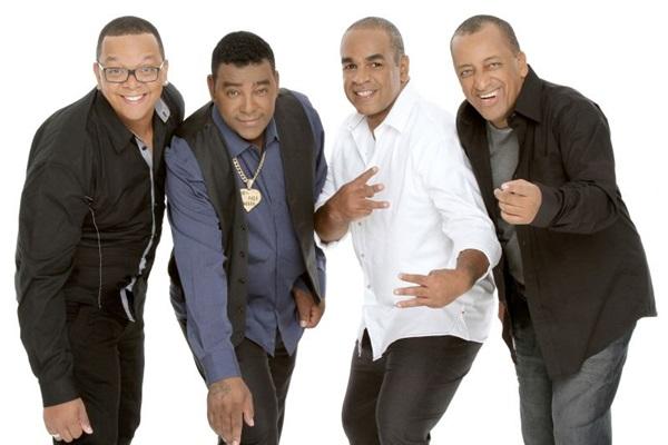 Raça Negra traz à cidade um repertório de sucessos que marcaram a carreira de 30 anos do grupo  (Objetiva Comunicação/Divulgação)