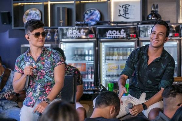 A dupla PH e Michel é a grande atração do Shed Western Bar (Pedro Ceciliano/Divulgação)