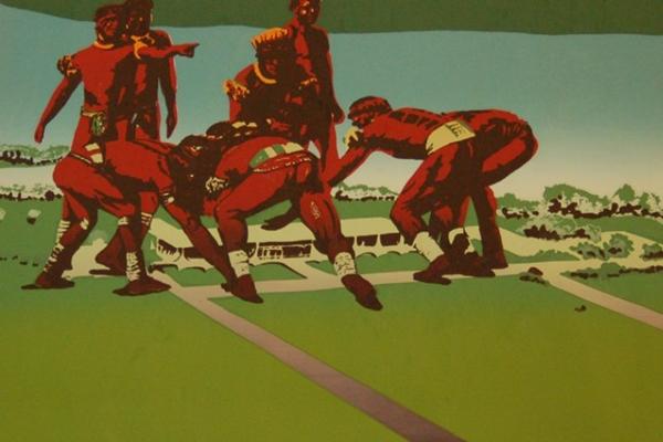 Obra de Helô Sanvoy traz questões atuais para a reflexão artística (Paulo Andrade/Divulgação)