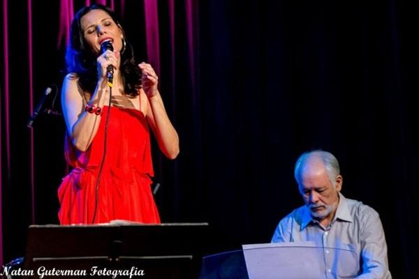 Marcia Tauil e Cristovão Bastos se preparam para gravar um disco (Natan Guterman/Divulgação)