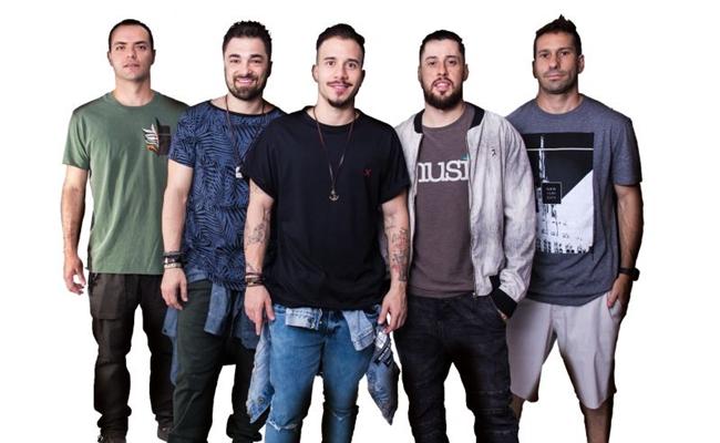 A banda Jeito Moleque é a atração da festa 'Me faz feliz', no clube Ases (Facebook/Reprodução)