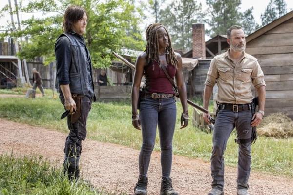 Rick, Michonne e Daryl terão de manter a ordem nas comunidades (Divulgação/AMC)