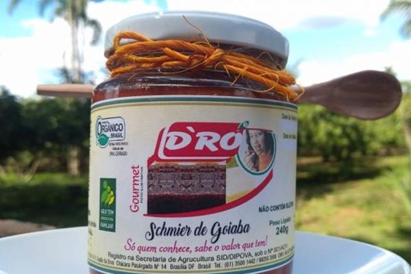 A marca D'RÓ Produtos Orgânicos conta com uma variedade de doces e geleias preparados artesanalmente (Arquivo Pessoal)