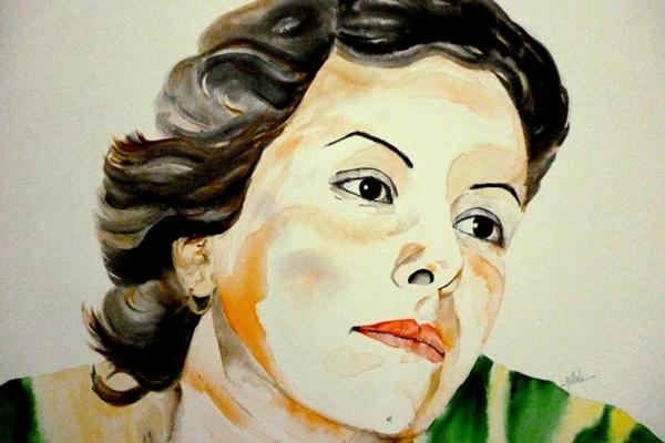 Elis Regina é retratada por Alexandre Zilah (Alexandre Zilahi/Divulgação)