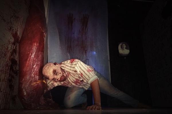 O projeto Casa do medo foi inspirado na versão norte-americana do evento (Objetiva Assessoria/Divulgação)