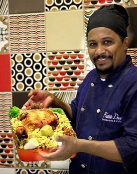 Chef de cozinha Francisco Lindomar  (Vinicius Cardoso Vieira/Esp. CB/D.A Press)