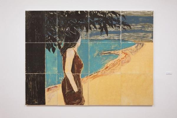 Exposições 'Teima' e 'O Lado Côncavo' na CAL. Obra da artista Ana Calzavara    (Éverton Ballardin/Divulgacao)