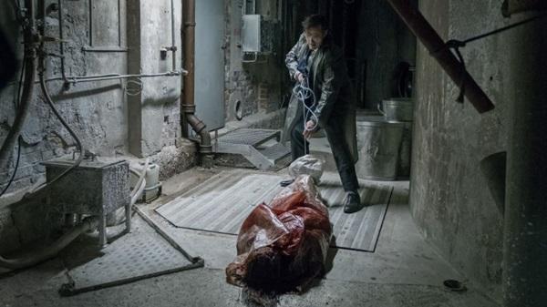 Cena do filme 'A Casa Que Jack Construiu', com Matt Dillon e Uma Thurman. (California Filmes/Divulgação)