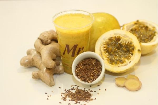 O suco Calmaria aposta no sabor marcante do marácuja (Solos Comunicação/Divulgação)