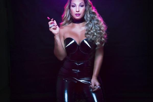 A cantora Valesca Popozuda se apresenta na capital nesta sexta (Edu Pimenta/Divulgação )