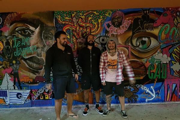 O coletivo Cavalo do cão irá expor pinturas na Feira Hype (Kaká Guimarães/Divulgação)