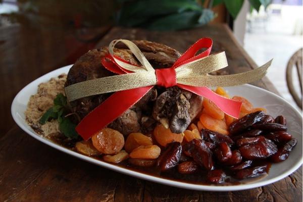 O cordeiro é uma das estrelas do menu de fim de ano do Empório Árabe (Empório Árabe/Divulgação   )