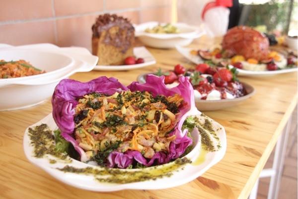 O salpicão de joelho de porco é uma das iguarias oferecidas na ceia da Berlim Pães   (Barbara Cabral/Esp.CB/DA.Press )
