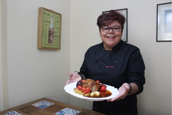 A ceia natalina pode ser montada entre um dos três menus da chef para a festa natalina ( Marilia Lima/CB/D.A. Press)