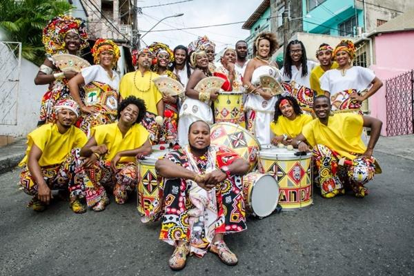 O bloco Ilê Aiyê é um dos mais tradicionais do carnaval baiano  (Arquivo Pessoal/Divulgação)