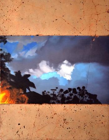 Obra da exposição 'Intempéries permanentes' (Matias Mesquita/Divulgação)