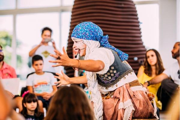 Crianças terão uma série de atividades dedicadas a elas neste fim de semana no CCBB (Thaís Mallon/Divulgação)