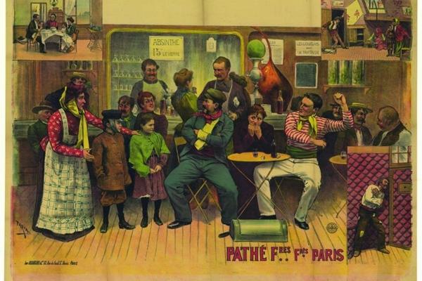 Cartaz do artista Cândido de Faria, em cartaz no CCBB na exposição Cândido de Faria - Um brasileiro em Paris (Cândido de Faria/Divulgacao)